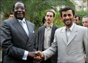 Robert Mugabe, President of Zimbabwe.