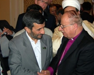 Bishop Riah Abu El-Assal, former Anglican Bishop in Jerusalem.