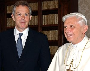 Tony Blair has converted and become a Roman Catholic