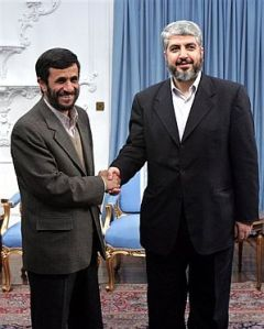 Meshaal-Khaled, leader of Hamas.