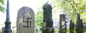 The Jewish Cemetery at Sofienberg, Oslo, Norway.