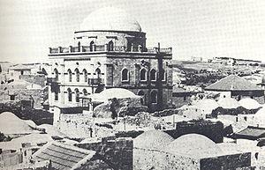 Tiferet Yisrael Synagogue before 1947.