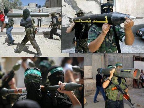 PALESTINA/ISRAEL - Página 2 Hamas-rocket-launchers1