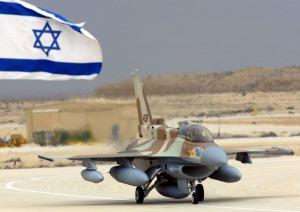An Israeli F-16 fighter.