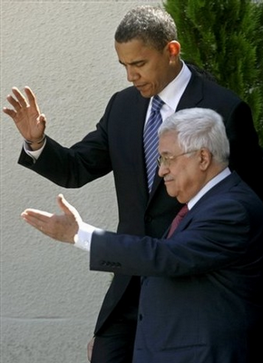 Abbas says he knows the way, and off the cliff they go