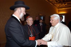 The Pope will no longer talk about Jesus with the Chief Rabbi