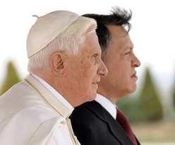 The Pope and King Abdullah of Jordan