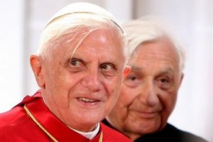 The present Pope has never denied that he was a Hitler Youth