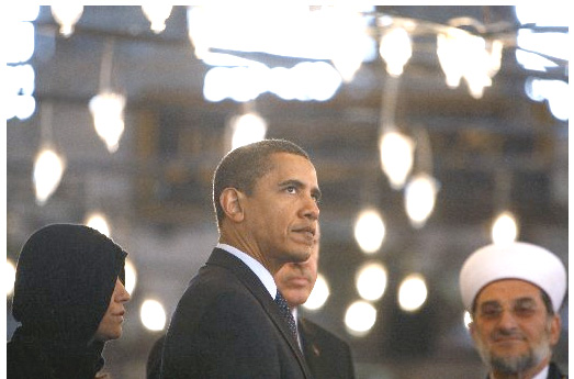 President Obama in Turkey to build new relations. In Iran something went wrong.