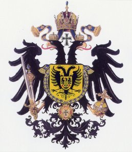 The coat of arms of The Holy Roman Empire