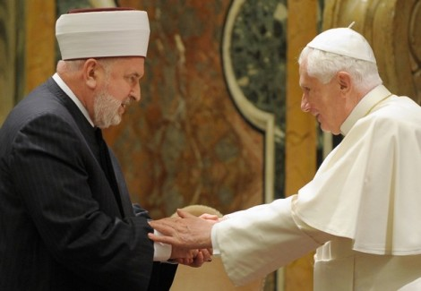 The grand mufti of Bosnia and the Pope