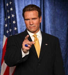 Arnold Schwarzenegger would love to be President, but  was unlcuky with his place of birth