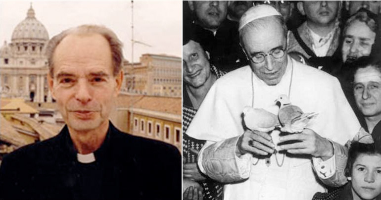The Jesuit priest who blames the Jews for the Pope not making Pius a saint