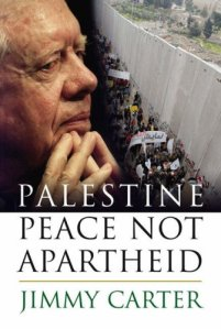 A book that brands Jimmy Carters views on Israel