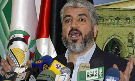 Hamas leader Ahmed Khaled
