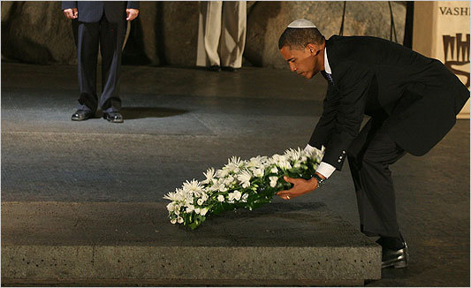 Dear Obama: The Jewish people have overcome the Holocaust. The state of Israel is a great victory.
