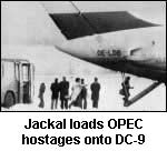 Escaping with hostages during the ttack in Viena.