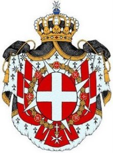 The coat of The Order of Malta