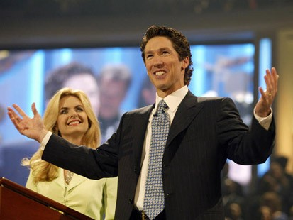 "JOEL OSTEEN: ""OBAMA IS A CHRISTIAN, DOING A GOOD JOB"""