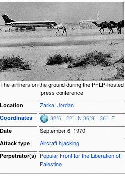 1970 was the start on a Global intifada against our Air Ports.