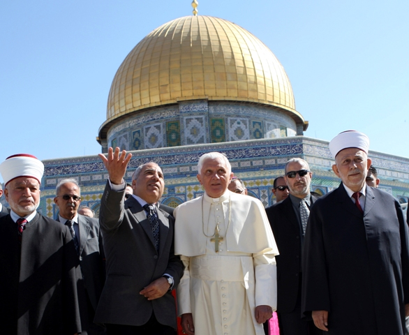 Men of peace between religions, preparing the way for the man of lawlessness.
