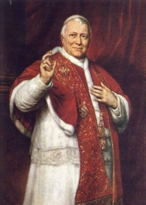 Pope Pius IX lost his Earthly Kingdom. The Papal system made a comback in Rome with the help of the Fascists.