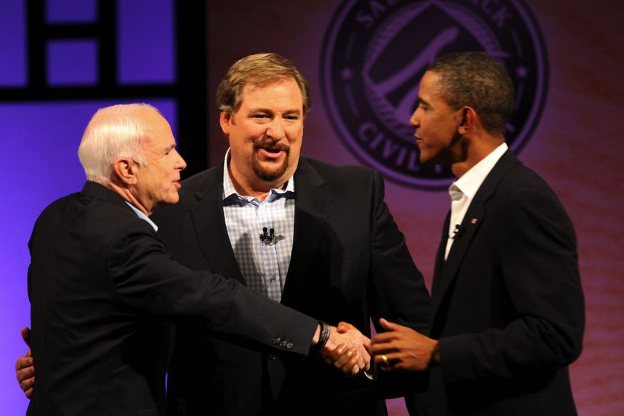 Rick Warren has entered the cirkles of Power. He has to be careful. Beacuse Worldly powers corrupts