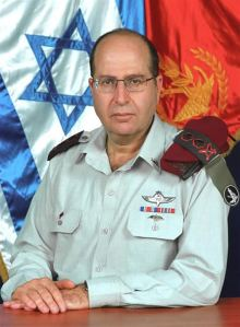 Strategic Affairs Minister Moshe Yaalon. A former IDF General.