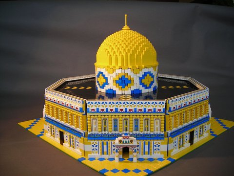 The Roman god Jupiters temple in Jerusalem, the Dome of the Rock