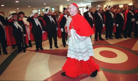 Obama liked the seamless garments of Cardinal Bernadin