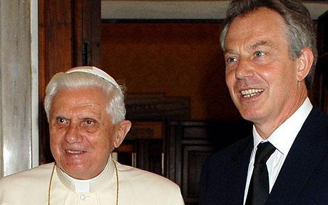 The Pope has got a new envoy in his faithful servant Tony Blair