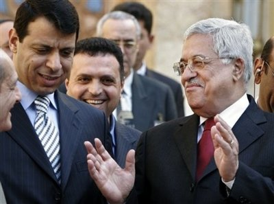 Lies, up on lies. From the suns raises in the morning...Abbas and Mohammad Dahlan.