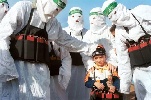 This in how Hamas educates their children in Gaza to honor god.