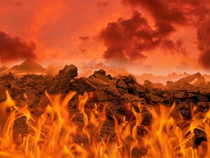 The Abyss is just above the lake of fire. None of them is a place I ...