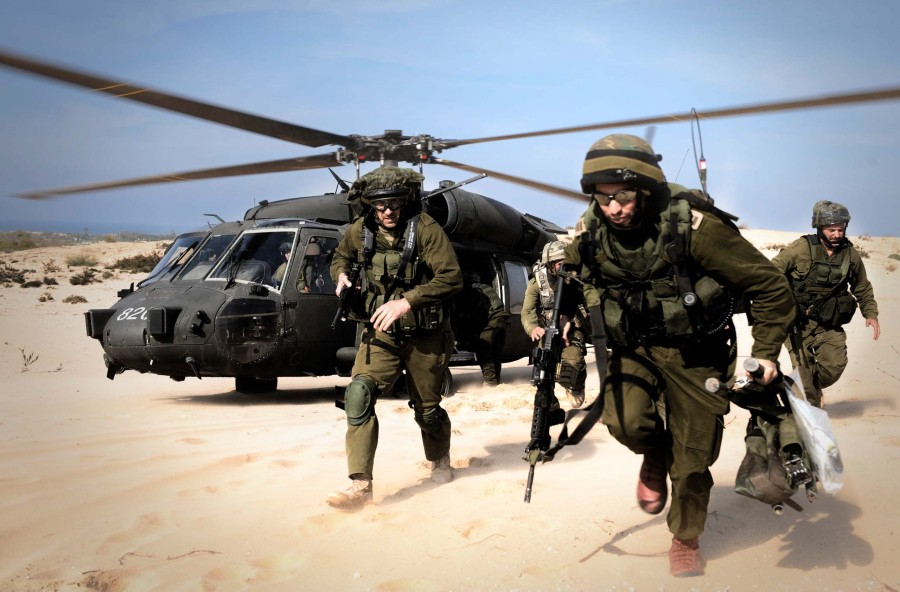 A fight between life and death, right and wrong. The IDF on the move
