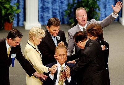 Kenneth Copeland and Oral Roberts, both teach about a False Messiah