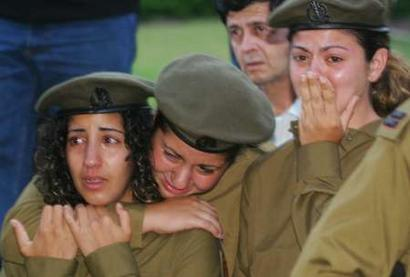 IDF soldiers mourn the loss of Maayan Naim. She have her in the battle for Zion and a free World.