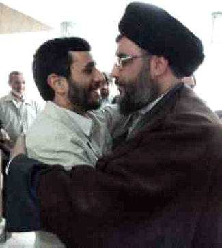 Together with the Vatican, Nasrallah and president Ahmadinejad shall win the World for Christ.