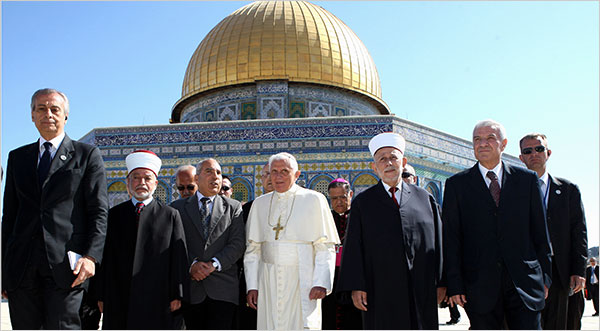 The New One World Government will make a false peace with Islam, and rebrand the Temple Mount a new International temple in Jersusalem.