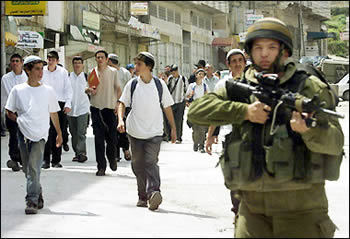 IDF soldiers needs to be present to secure the Jews living in Judea and Samaria