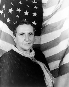 Gertrude Stein, an American Jew or German origin