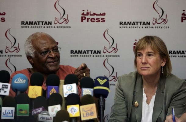 Desmond and Tutu Christine Chinkin have a record of pasing judgment on Israel