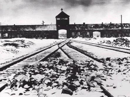 Auschwitz. Just a little bit colder than Hell.