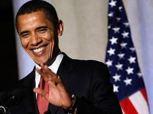 US President Barack Hussein Obama