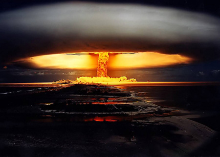 This is what the Ayatollah want to see happening over Tel Aviv as soon as possible. A nuclear explosion.