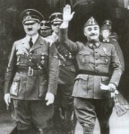 Adolf Hitler and Fransisco Franco. To Fascist dictators who knew how to get the job done in regards to the Jewish people.