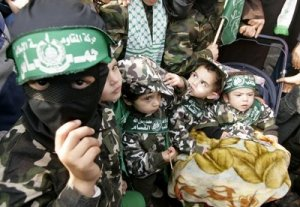 Hamas children of a lessed god, robbed for their childhood