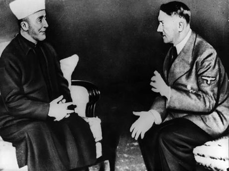 What did the Muslim leader in Jerusalem and Adolf Hitler have in common. They both tried to exterminate all Jews