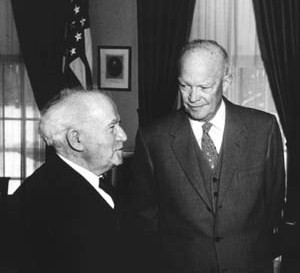 US President Eisenhower regretted forcing Israel to pull back