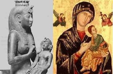 Isis and Catholic Mary. One and the same. Copy-cats of the truth.